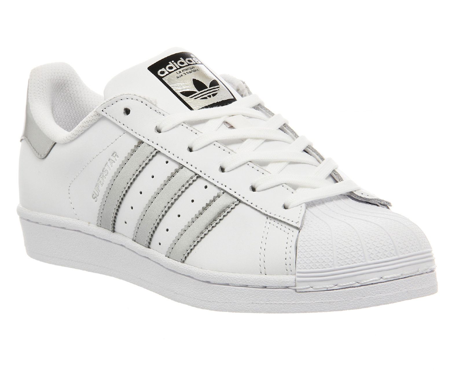 adidas superstar black and white sports direct